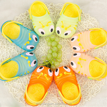 Cute caterpillars design baby sandals shoes comfortable eva garden shoes kid Slipper