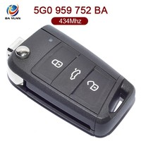 AK001068 for VW Golf 7 3 button smart remote car key 434Mzh 48 chip 5G0 959 752 BA