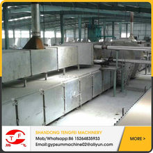 factory directly for sale automatic gypsum board production line/gypsum board processing machinery
