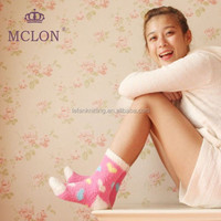Beautiful Heart Youth Ladies New Arrival cozy floor socks