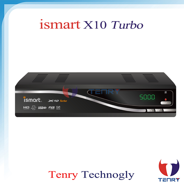 ISMAR X10 Turbo Receiver for north america with JB200 8PSK Preinstalled