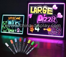 Advertising restaurant led tablet, acrylic led drawing tablet