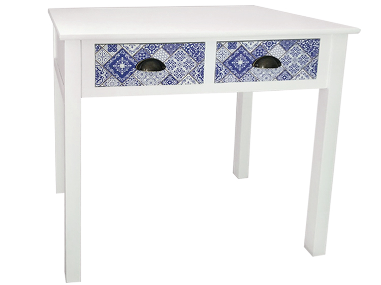 rustic cheap white side hall console table