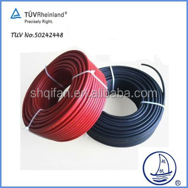 Solar PV Cable TUV Certificate PV1-F High quality and biggest brand In Shanghai