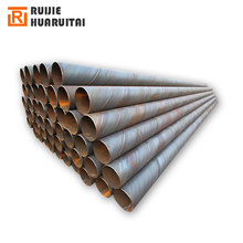 Double walled steel casing pipe, double-side spiral submerged-arc welded steel pipe, drain steel pipe