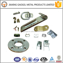 OEM quality assurance zinc plated steel garage door part and large stamping parts punching