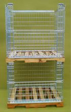 EU Standard Storage Stillage Box For timber or plastic pallet