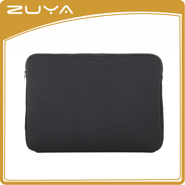 fashioncustom design neoprene material laptop bag black computer case sleeve
