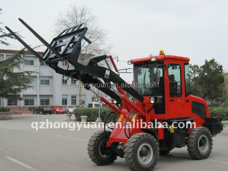 Mini construction machine ZL08F with CE/wheel alignment and balancing machine