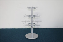 3 Tiers Counter Unique Metal Hanging Jewelry Stands