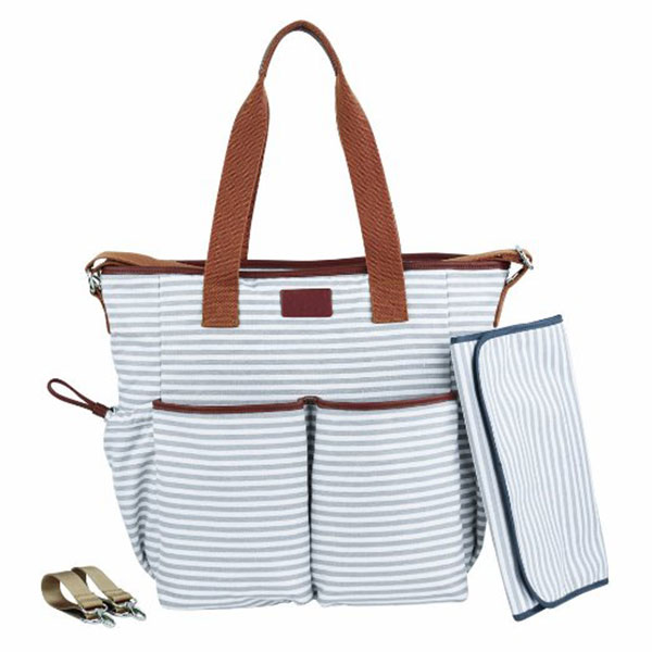 Mommy diaper bags with diaper changing pad,large capacity tote diaper bag