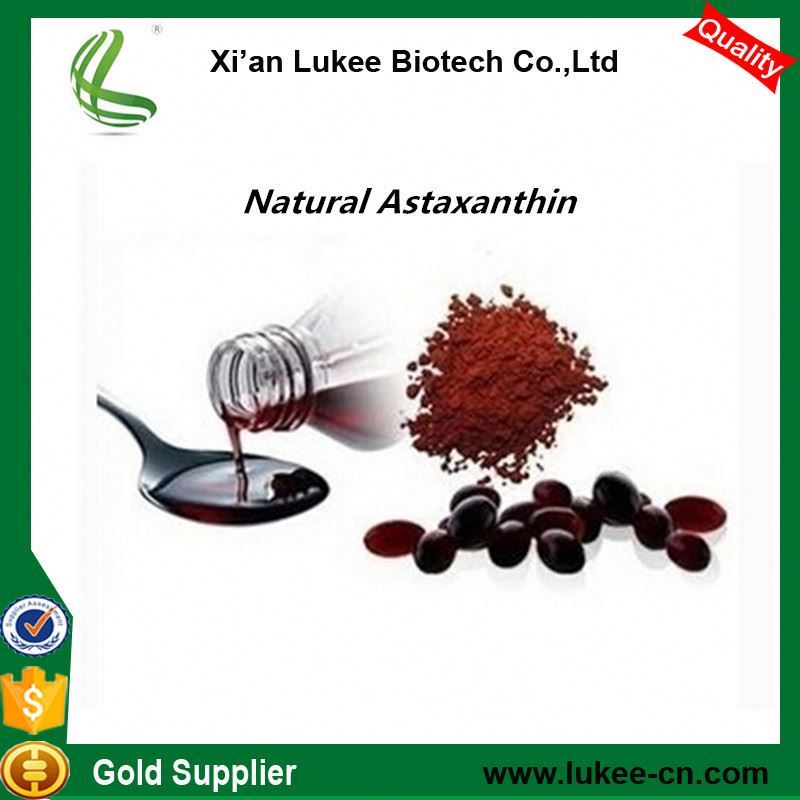 Manufacturer algae herbal factroy supply dark red astaxanthin oleoresin or powder
