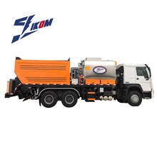 IKOM model ZQZ5250TFC synchronous road paint machine asphalt chip sealer in pavers for sale