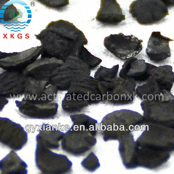 Nutshell Granular Activated Charcoal(GAC) for Gold refining