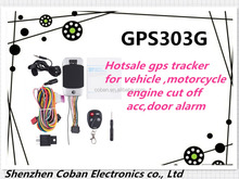 Web based gps tracking software, Vehicle and motorcycle gps tracker with Andriod and IOS app tk303G