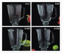 replacment parts soda lime glass material blender steel jars
