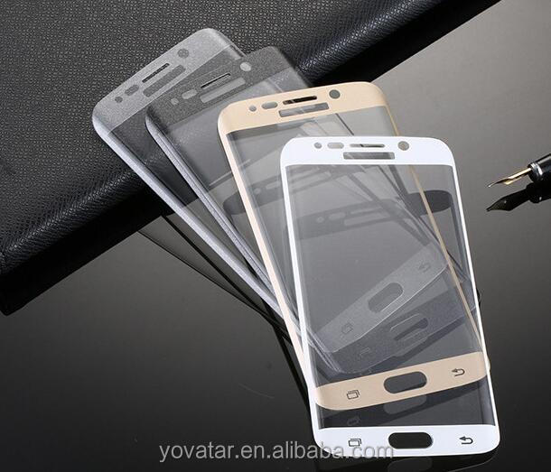 Best 3D Curved S8 Film Cell Phone Accessories 0.33mm 9H S8 Tempered Glass Productive For Samsung S8 Glass Screen Protector