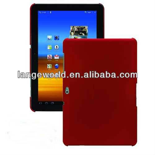 C&T RED PC hard case for galaxy tab 2 10.1