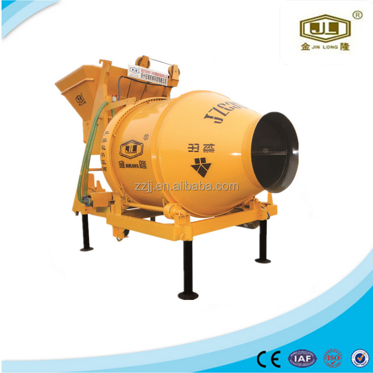 gravity type concrete mixer machine investors looking for construction projects JZC350
