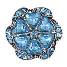 2017 Fashion Interchangeable Crystal Rhinestone Snap Button for Women