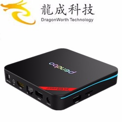 2019 New design Pendoo Mini RK3328 1g 8g Android 8.1 google download free play store for medical use KD player 18.0 4k tv box