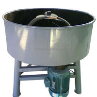 Simple Structure Mini Concrete Mixer Used for Sale, Mini Used Pan Concrete Mixer for Sale