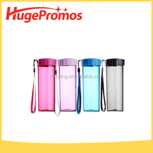 Eco-friendly Plastic Tritan Aluminum Sleeve Sport Bottle