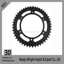 OEM quality F650GS F650ST motorcycle Sprockets for 520 Drive Chain with 1045 steel material in China wholesales