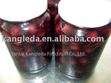 Organic Canned Cherry with natural color