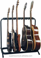 5 Way Chord Guitar Rack Stand
