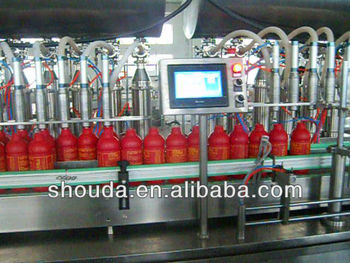 automatic peanut oil,olive oil ,sunflower seeds oil filling line
