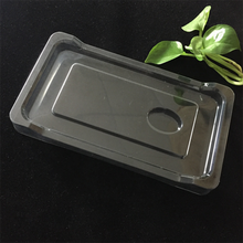 Customized empty blister packs clear high quality cell phone / iphone case blister packaging tray