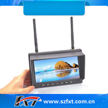 32CH 5.8GHz Diversity Receiver 7 inch FPV Monitor for r dji phantom FPV Compatiable with Fatshark,airwave,Immersionrc