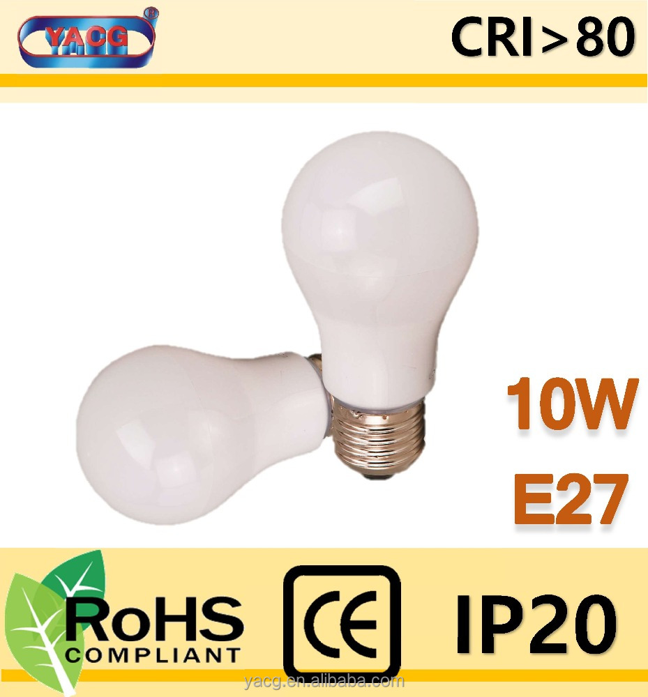 LED light bulb 10w E27 cap china manufacture supplier