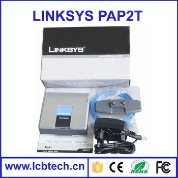 2016 Best selling Promotion Unlocked linksys voip adapter, Linksys pap2t