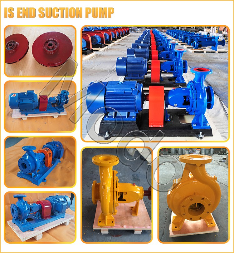 IS-end-suction-pump