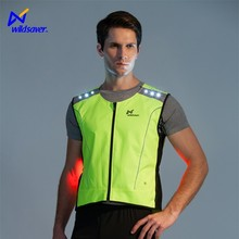 Flashing led safety running hiking climbing camping sports traffic vest