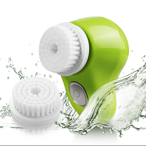Facial Cleansing Brush Exfoliating Spin Face Scrubber Electric Rechargeable Waterproof Cleansing System for Deep Clean