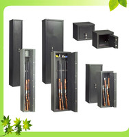 Fireproof metal gun safe/gun cabinet no noise frigobar key lock gun cabinet safe box portable safe box
