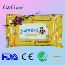 2016 Hot Selling Wet Baby Tissue, Baby Care Wet Tissue Paper