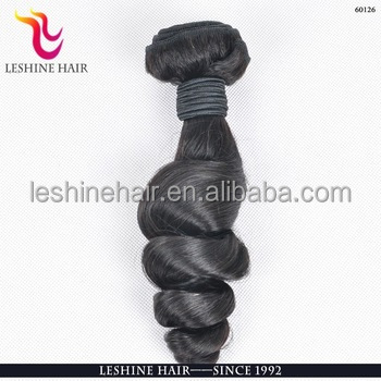 Wholesale Alibaba Virgin Tangle Free Crochet Braids 100% Loose Human Hair Bulk Extension