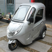 Closed Body Type passenger electric tricycle /electric trike