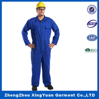 Flame retardant workwear fireproof working clothes anti-static coverall uniform