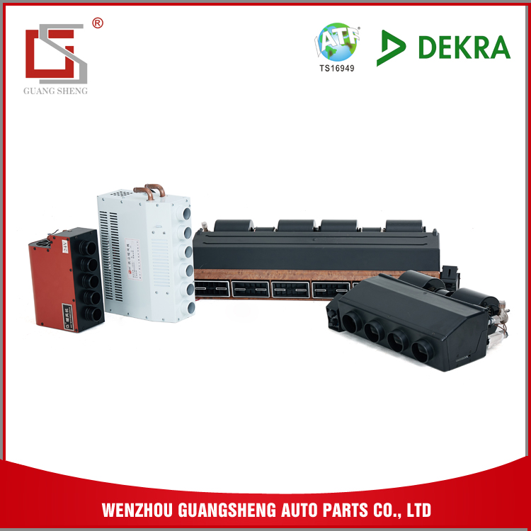 GUANGSHENG Electricity Car Accessories Evaporator Core For Bus Air Condition