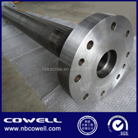 screw and barrel for Large Diameter Gas Supply Pipe Extrusion Line