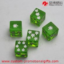 2016 hot sale blank dice, 16mm Custom-Made Dice different colored dice