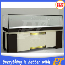 store wall stand jewelry display locking jewelry display case wooden jewellery cabinet