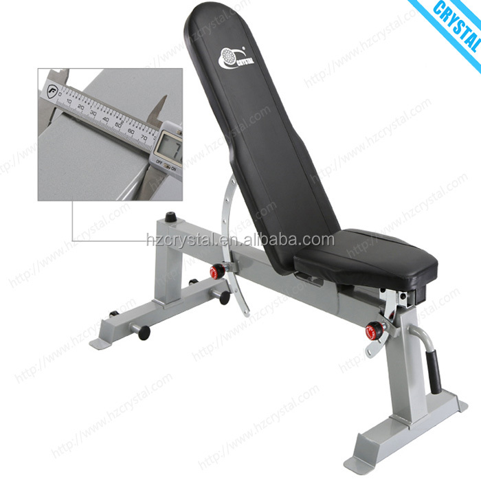 SJ-<strong>A008</strong> Free shipping home gym equipment adjustable weight dumbbell exercise bench