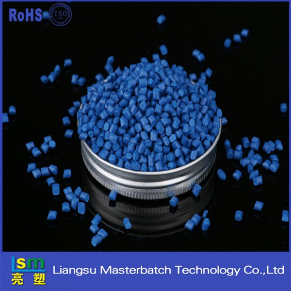 Color masterbatch polylactic Acid resin PLA granules / PLA plastic raw material