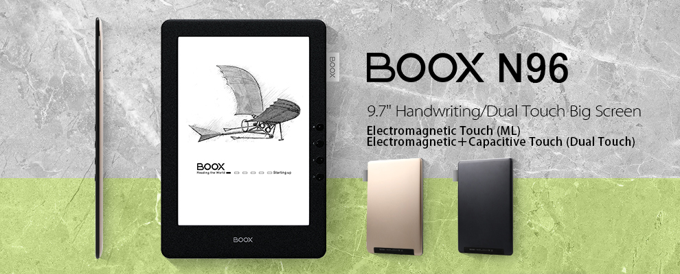 Eink NoteBook Second Screen Monitor Boox Max Educational 13.3'' eReader Tablet Like DPTS-1 E-ink Reader